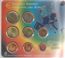 Spagna-2000-Divisionale 8 Valori-F.D.C.-Unificato E.40 - Spagna