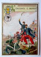 CHROMO    LILLE..CHICORÉE LA BELLE JARDINIÈRE ....BERIOT.......DÉCORATION... MÉDAILLE DE CRIMÉE - Chromos