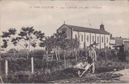 CAGNAC - L'Eglise - Homme à La Brouette - France