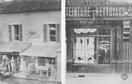 21  -  CPA DIJON Teinture Et Nettoyage Maison Champy  Fondée En 1811 - Dijon
