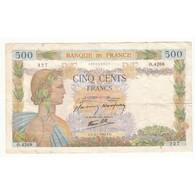 500 FRANCS LA PAIX  2-01-1942 Fay 32-26 - 1871-1952 Anciens Francs Circulés Au XXème