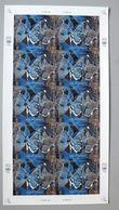 UNO-New York 653/6 KB/sheet Oo/ESST, Frieden; Graphik Von Hans Erni (1909-2015), Schweizerischer Maler Und Graphiker - New York - Hoofdkwartier Van De VN
