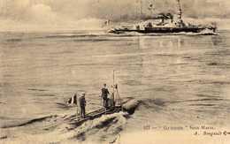 SOUS MARIN GYMNOTE - Warships