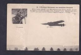 Vente Immediate Aviation Aviateur Weymann Sur Monoplan Nieuport - Aviateurs