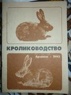 Russian Book - In Russian - Rabbit Breeding. - Livres, BD, Revues