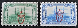SURCHARGES 1917 - ANDRINOPLE 1916 - NEUFS * - YT 554/55 - TRES RAREMENT PROPOSES - 1858-1921 Empire Ottoman