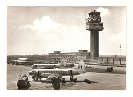 """CT--2794-- FIUMICINO - AEROPORTO INTERCONTINENTALE DI ROMA"""" LEONARDO DA VINCI """"VIAGGIATA 1965 - Italia"""