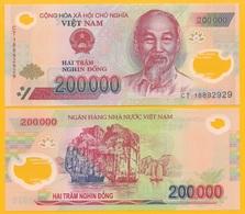 Vietnam Viet Nam 200000 (200'000) Dong P-123 2018 UNC Banknote - Vietnam