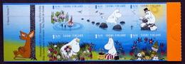 Finland 2007 Mummi Trolls  BOOKLETS    MiNr.1854-59  MNH (**)   ( Lot  Ks 122) - Unused Stamps