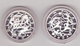 San Marino-2003-Olimpiadi Di Atene-5+10E.-Unificato E.54 - San Marino