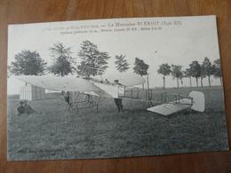 CPA 2 - Carte Postale Ancienne - Le Monoplan Blériot - Flieger