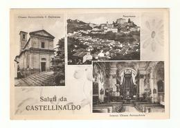 CT--2798-- SALUTI DA CASTELLINALDO-CUNEO- 3 VEDUTINE - VIAGGIATA - Altre Città