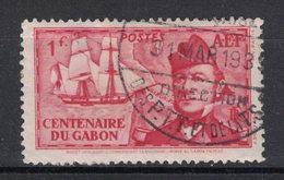 AEF - French Equatorial Africa - Yvert 67 Oblitéré DRECTION DES PTT ET DE LA TSF - Scott#75 - A.E.F. (1936-1958)