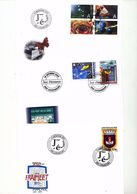 Luxembourg Charter Of Freedom Natural Museum The Post In 50 Years Day Of Issue Cancel 2002 04s - FDC