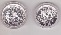 San Marino-2004-Mondiali Calcio In Germania-5+10E. Proof-Unificato E.50 - San Marino