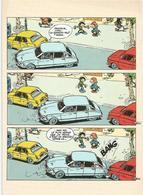 CP Franquin Gaston Lagaffe DS 1989 - Postcards