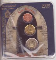 San Marino-2005-Trittico-2c.+20c.+2E.-Unificato E.16 - San Marino