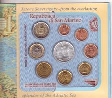 San Marino-2005-Divisionale 9 Val. Col 5 E..-Unificato E.80 - San Marino