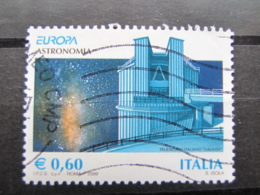 *ITALIA* USATI 2009 - EUROPA 2009 - SASSONE 3085 - LUSSO/FIOR DI STAMPA - 6. 1946-.. Repubblica