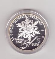San Marino-2005-Olimpiade Di Torino 5 E..-Unificato E.44 - San Marino