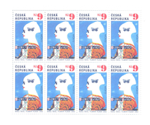2003. Czech Republic,  Europa 2003, Sheetlet, Mint/** - Europa-CEPT