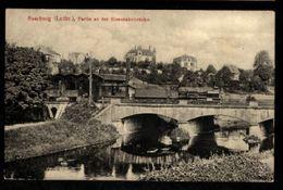 57 - SARREBOURG - SAARBURG -  Partie An Der Eisenbahnbrücke - Jeu Au Pont De Chemin De Fer - Sarrebourg
