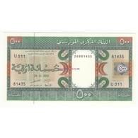 MAURITANIE 500 OUGUIYA 2001 NEUF Pick 8b - Mauritania
