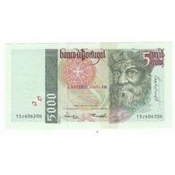 PORTUGAL 5000 ESCUDOS 1998 NEUF - Portugal