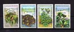 BRITISH  INDIAN  OCEAN  TERRITORY    1975    Wildlife  3rd Series    Set  Of  4    MNH - British Indian Ocean Territory (BIOT)