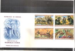 FDC Du Sénégal - Animaux - Parc National Du Niokolo-Koba - 1980 (à Voir) - Sénégal (1960-...)