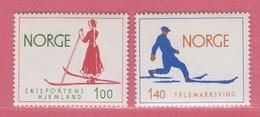 1975 ** (sans Charn., MUH, Postfris)  Yv  651/2Mi  695/6  NHK  743/4 - Nuevos