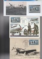 083 .  2  Cartes Normandie Niemen 1969 +  Timbre - 1960-1969