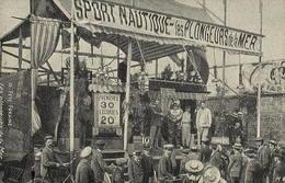 Reproduction - Fête Foraine - Sport Nautique - Les Plongeurs De La Mer - Circus