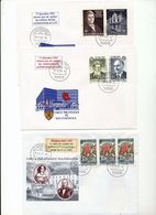 Luxembourg Chamber Of Deputies Europa 80 Map Of Fortress Last Day Of Use Cancel 2002 04s - FDC
