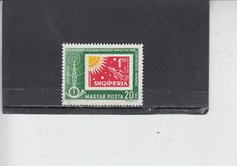UNGHERIA  1963 - Yvert  A 258 - Spazio - Space