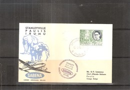 1ère Liaison Aérienne - SABENA - Stanleyville-Paulis  (à Voir) - Ruanda-Urundi