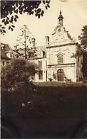 Ref X957- Carte Photo - Fontaine L Eveque - Chateau -aile Nord Du Chateau Occupé Par Les Dames Du Sacre Coeur De Nancy - Fontaine-l'Evêque