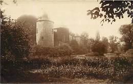 Ref X956- Carte Photo - Belgique - Fontaine L Eveque -  Le Chateau Vu Du Parc - - Fontaine-l'Evêque