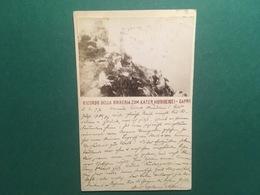 Cartolina Ricordo Della Birreria Zum Kater Hiddigeigei - Capri - 1897 - Cartoline