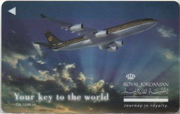 GIORDANIA KEY HOTEL Mövenpick Hotel & Resort Jordan - Royal Jordanian - Hotelkarten