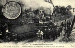 Reproduction - Grève Des Cheminots (1910) - Chemins De Fer