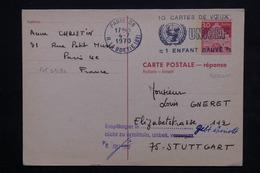 ALLEMAGNE - Entier Postal Réponse De Paris Pour Stuttgart En 1970 - L 23902 - Berlin (West)