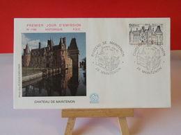 Château De Maintenon - 28 Maintenon - 7.6.1980 FDC 1er Jour N°1166 - Coté 2€ - FDC