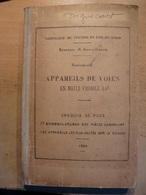 Appareils De Voie Croquis Plans De Pose Nomenclatures Des Pieces 1936 SNCF Train Cheminot - Chemin De Fer & Tramway