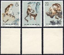 1963 - Monkeys (M.741/743), O.g., MNH.... - Non Classificati