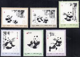 1972 - Giant Panda, Complete Set (M.1126/1131), O. G., MNH.... - Non Classificati