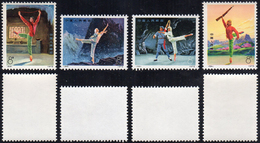 1973 - Modern Ballet, Complete Set Of 4 (M.1144/1147), Original Gum, MNH.... - Non Classificati