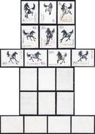 1978 - Galloping Horses, Complete Set Of 10 (M.1399/1408), O.g., MNH.... - Non Classificati