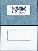 1978 - Galloping Horses, Miniature Sheet (M.B12), Original Gum, MNH, Perfect Conditions.... - Non Classificati