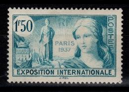 YV 336 N* Exposition Internationale De Paris Cote 2,50 Euros - Ungebraucht